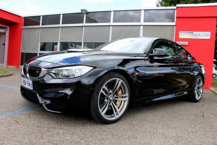 bmw m4 3 0 bi turbo 431ch dkg d 39 occasion bmje auto deutschland dole 39 jura. Black Bedroom Furniture Sets. Home Design Ideas