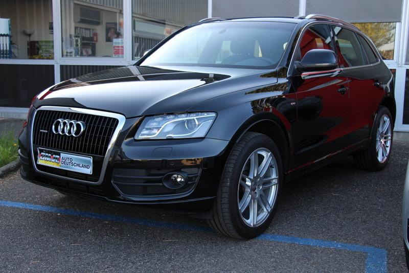 audi q5 3 0tdi 239ch s line d 39 occasion bmje auto deutschland dole 39 jura. Black Bedroom Furniture Sets. Home Design Ideas